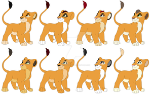Golden Cub Adopts (Closed) by Violent-Kion