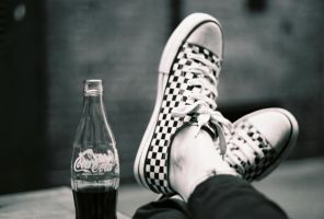 Chucks and Coke by InnerBeautypoet
