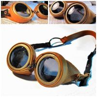 Steampunk Goggles by ClockCollector