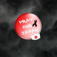 Pray for Japan by Mimado
