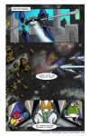 Star Fox Sagas: 1-16 colored by MidNight-Vixen