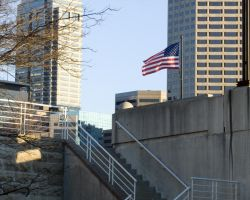 Flag Downtown Canal by jdragz