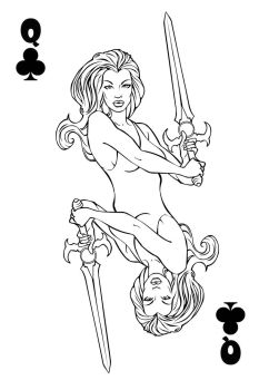 Qween of Clubs by InThe00