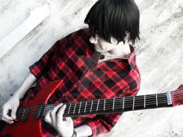 Marshall Lee - Adventure Time by darktoguro