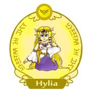 Hylia by LittleGreenHat