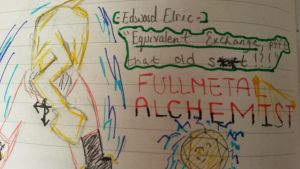 Not So Good Drawing of Mine : Edward Elric by MrArbitraryMarks