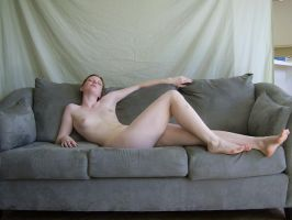 Nude on Sofa 3 by chamberstock