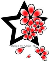 Spirit flower by Absan
