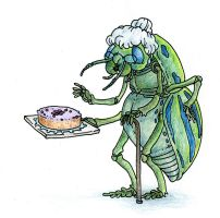 Grannie Insect by HanneDW
