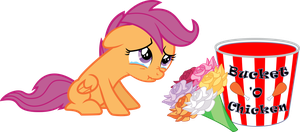 Scootaloo Celebrates Mother's Day by PsychicWalnut