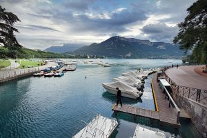 ncy 18 View on Lac d'Annecy by Lunox-baik