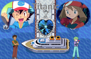 Pokemon Titanic Poster by AdvanceArcy