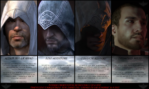 Assassin's Creed - My life, my mission, my fate by josetemg