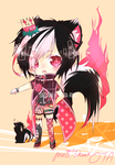 [Ignisa PENDING] Skunk Prince -Offer To Adopt- by 46san