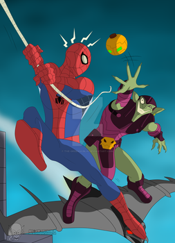 Spider-Man - I have something for you Spidey by The-GreenGoblin