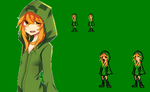 Creeper Girl JUS Style by Spritesliker007