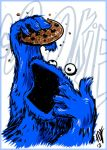 SOTD Cookie Monster by ADE-doodles