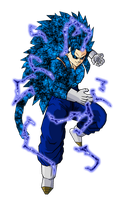 Vegetto SSJ 14 V4 by ansemporo002