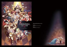 Cover of RO fanbook by koch43