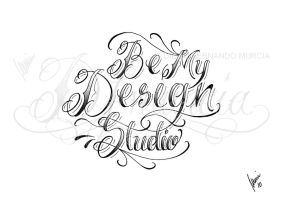 Be My Design Studio lettering by dfmurcia