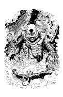 THE CREATURE by mister-bones