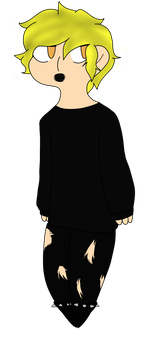 an attempt at goth tweek by crxigtuckers