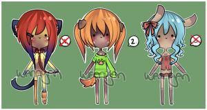 Mini Anthro Adopt Set [CLOSED] by WanNyan