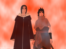 Itachi and Sasuke 580 by VjSasuke