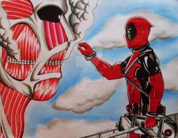 Attack on Halitosis by DeadPOOL-PARTY