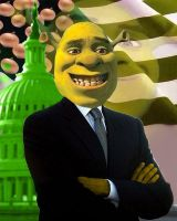 The president of the United Swamp by mrlorgin