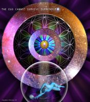 The Ego Cannot Survive Surrender by AVAdesign