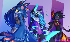 [Commission] Let's Rave About It by Dari-Dari