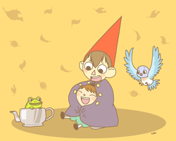 Over the Garden Wall by OysteIce