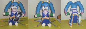 Arcade Sona Doll...All Done!:D by Iziume89