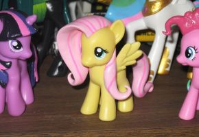 New custom Fluttershy.......sorta by AleximusPrime