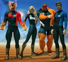 Fantastic Four 2nd skins x M4 e V4 by hiram67