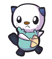 Oshawott by ponchiz