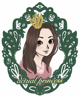 actual princess by eluzaberry