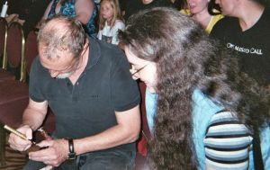 Me and Robert Englund 1 by DreamRevolution