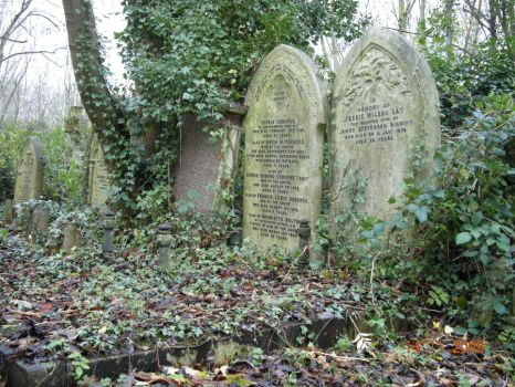 Highgate Cemetery 02 by kitsune-oni-stocks