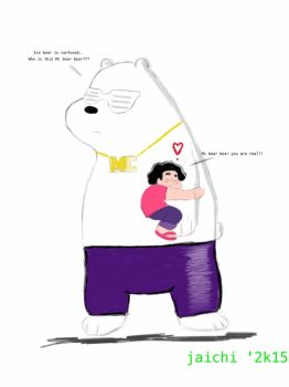ice bear as MC BEAR BEAR and steven by 3Ninja