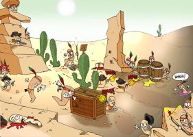 Worms Wild West by davilelis