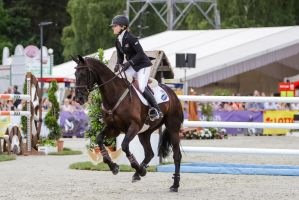 3DE Show Jumping Phase Stock 33 by LuDa-Stock