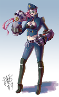 Officer Vi by zhaoly