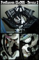 Pipe Cleaner GLaDOS - Details2 by teblad