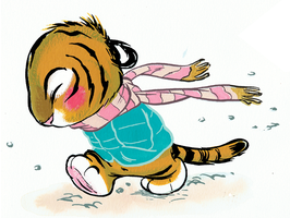 Chris Sanders Tiger 2 by Pocketowl