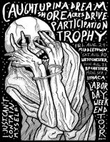 labor day weekend tour flyer by MallonIllustration