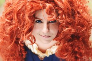 Merida (Brave - Disney) by BaahNaomi
