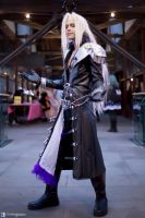 Sephiroth Cosplay by FamousLegend by TMProjection