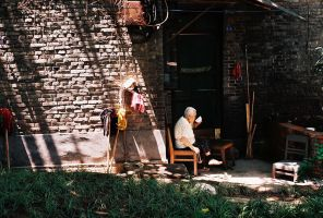 Mean Old Lady by avotius